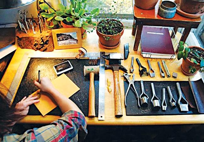 Lac vao 'thien duong' phu lieu handmade