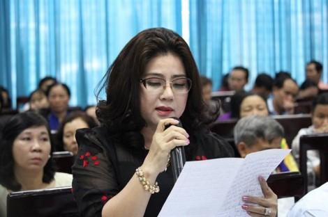 Bí thư Nguyễn Thiện Nhân hẹn gặp lại cử tri vì vụ heo bị tiêm thuốc an thần