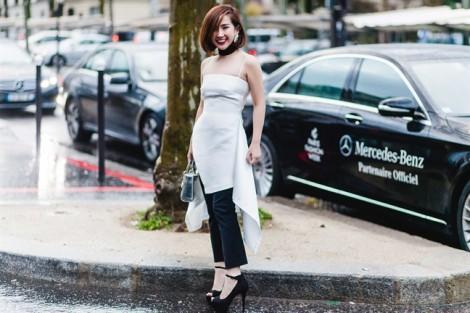 Phối trang phục, phụ kiện cá tính như Trâm Nguyễn
