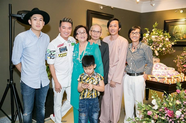 Dam Vinh Hung: 'Chi co Hoai Linh moi co quyen danh toi'
