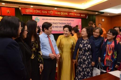Lãnh đạo TP.HCM đối thoại cùng hội viên phụ nữ