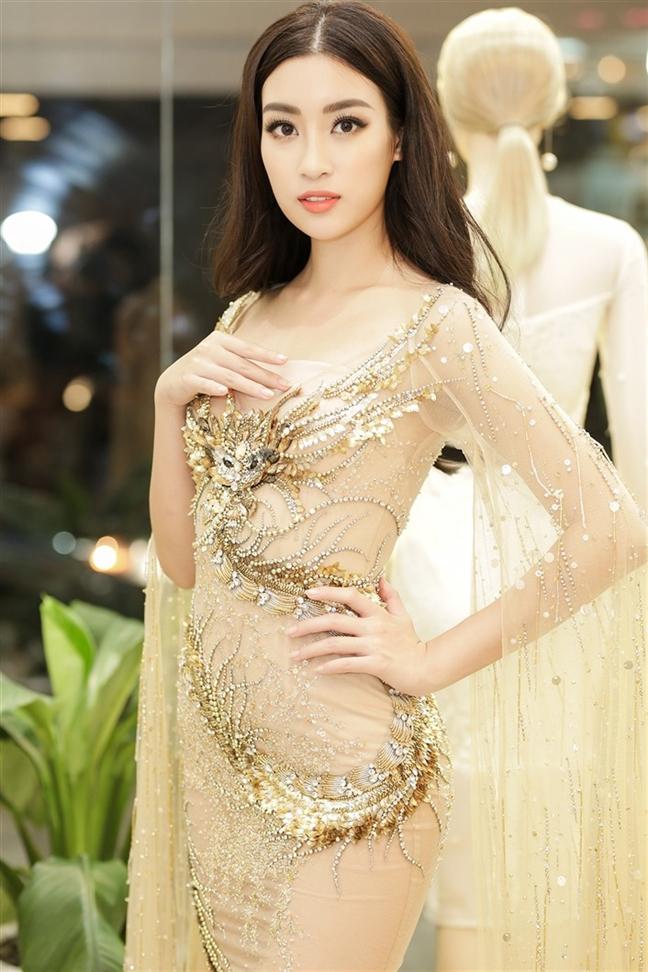 Hoa hau Do My Linh: 'Toi dat muc tieu tien vao top 5 Hoa hau The gioi 2017'
