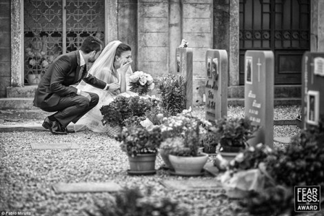 Những bức ảnh cưới khiến người xem không thể cầm lòng