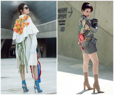 Ngắm mỹ nhân Việt nổi bật tại tuần lễ thời trang Seoul