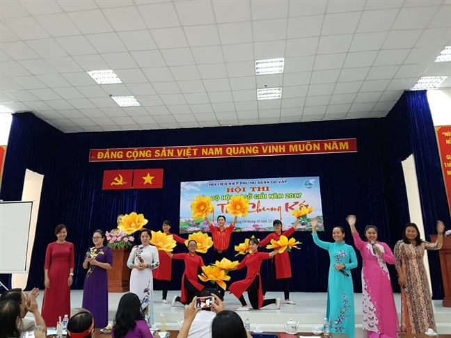 Quan Go Vap: Chung ket hoi thi 'Can bo Hoi co so gioi'
