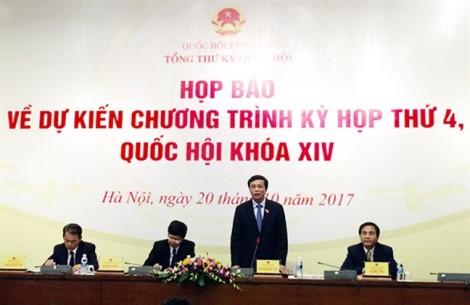 Thủ tướng Chính phủ sẽ trả lời chất vấn tại Quốc hội