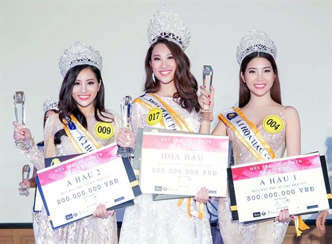 A hau thi 'chui' bat ngo lot chung ket 'Hoa hau Dai duong 2017'