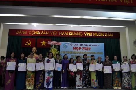 Quận 5: Đón nhận Giải thưởng Nguyễn Thị Định