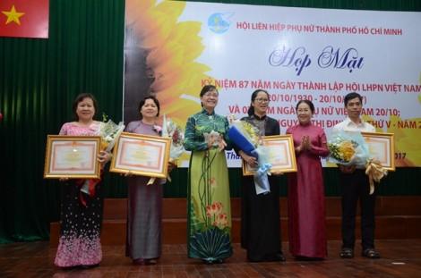 Nhiều thành tựu nổi bật trong hoạt động Hội và phong trào phụ nữ