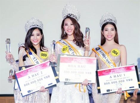 Á hậu thi 'chui' bất ngờ lọt chung kết 'Hoa hậu Đại dương 2017'