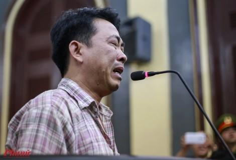 Vụ VN Pharma: Nguyễn Minh Hùng khóc nức nở, bảo tương lai không còn gì trong lời nói sau cùng