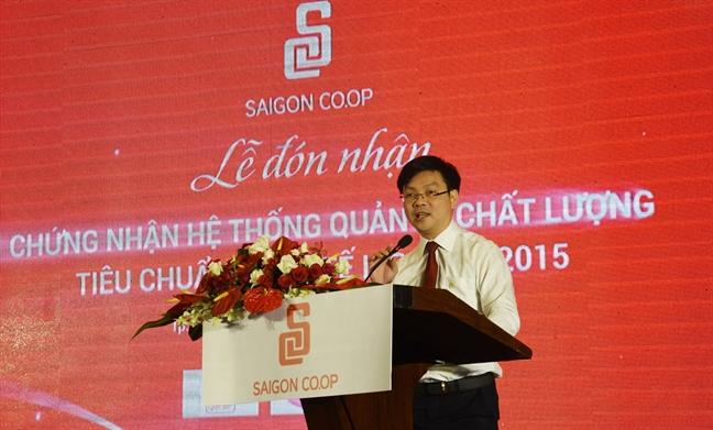 Saigon Co.op dat chung nhan he thong quan ly chat luong tieu chuan quoc te ISO 9001:2015