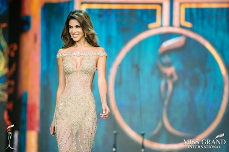 Đại diện Peru Maria Jose Lora đăng quang 'Hoa hậu Hoà bình Quốc tế 2017'