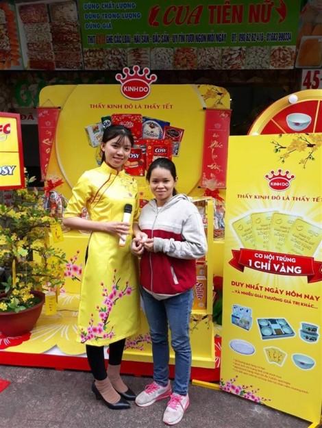Mondelez Kinh Đô tăng cường quảng bá, trưng bày sản phẩm dịp Tết