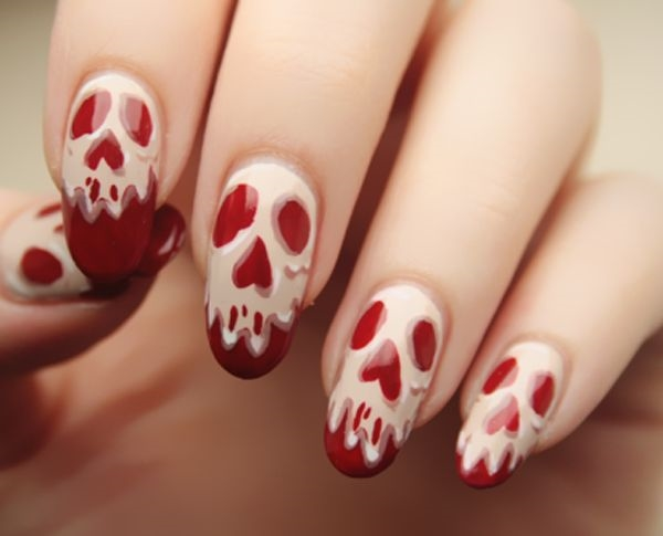 Nhung mau nails an tuong cho ngay Halloween