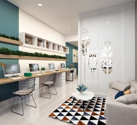 Văn phòng 'resort' hiếm có, khó kiếm tại Nam Sài Gòn