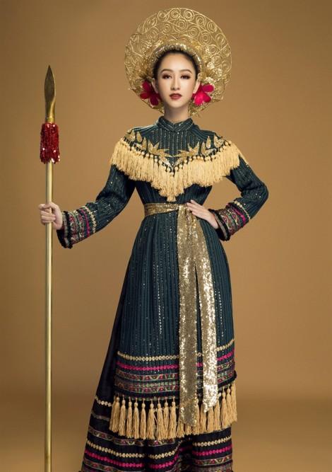 Hà Thu và tinh thần truyền thống tại 'Hoa hậu Trái đất 2017'