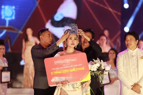 Thí sinh ít ngờ nhất đăng quang 'Hoa hậu Đại dương Việt Nam 2017'