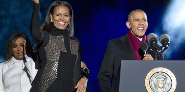 Mac dam den sang trong nhu gu thoi trang Michelle Obama