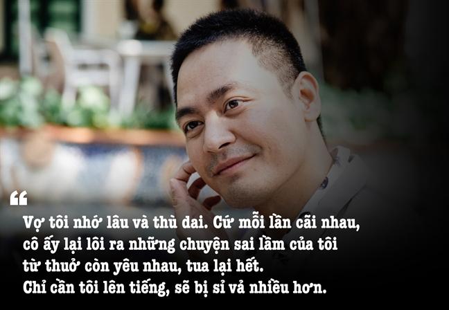 MC Phan Anh: 'Lan ghen du doi nhat, vo gom quan ao roi duoi toi ra khoi nha'