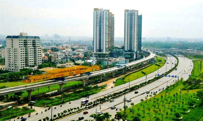 Toan canh doan ham metro dau tien o Viet Nam sau 5 thang thi cong