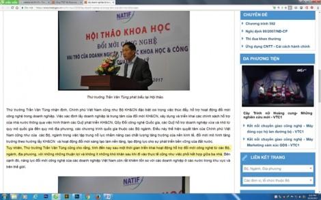 Ai chịu trách nhiệm về thảm họa...  tiếng Việt?