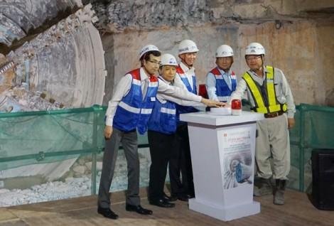 Toàn cảnh đoạn hầm metro đầu tiên ở Việt Nam sau 5 tháng thi công