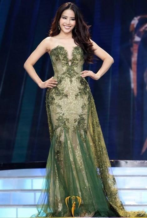 Hà Thu đã tịnh tiến ra sao tại 'Hoa hậu Trái đất 2017'?