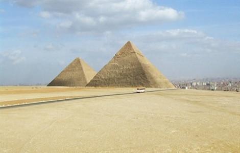 Chiêm ngưỡng 'phòng trống' bí hiểm ngay trong kim tự tháp Ai Cập