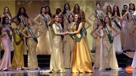 Hà Thu trượt top 8, vương miện 'Hoa hậu Trái đất 2017' thuộc về người đẹp Philippines