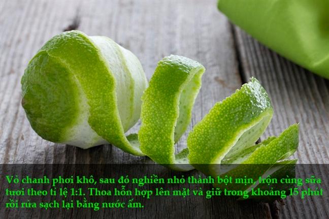 Tri sach mun 'vi dieu' chi bang vo trai cay