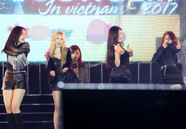 Nhung 'hat san' trong live concert dau tien cua T-ara tai Viet Nam