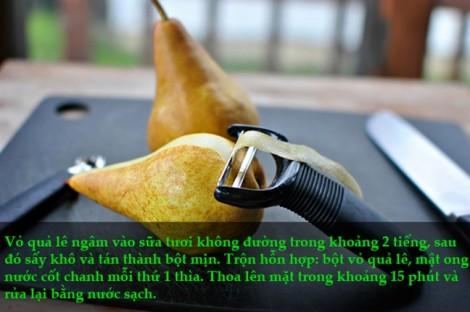 Trị sạch mụn 'vi diệu' chỉ bằng vỏ trái cây