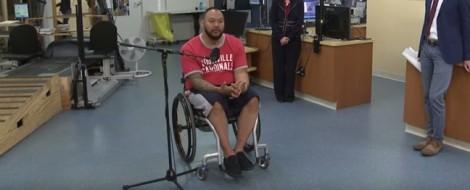 Chàng trai bị liệt hơn 4 năm bỗng hồi phục