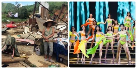 VTV nói gì khi vẫn truyền hình trực tiếp 'Hoa hậu Hoàn vũ Việt Nam 2017' lúc cả nước đau lòng vì bão lũ?