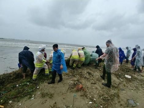 Đà Nẵng: Toàn dân dọn dẹp hậu quả bão bất chấp mưa gió đón APEC