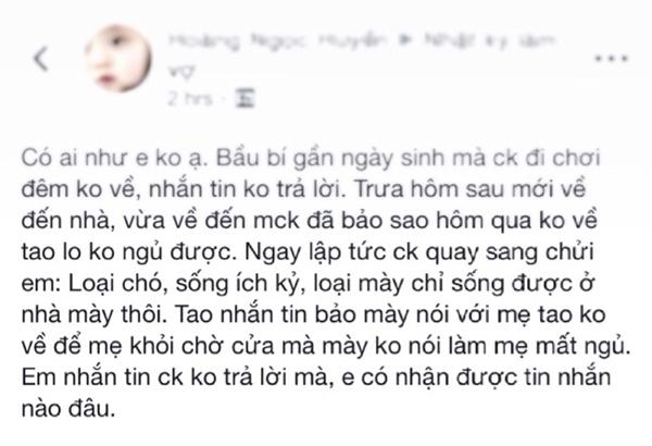 The ky bao nhieu roi, sao van co nhung nguoi vo gioi chiu dung den muc nay?