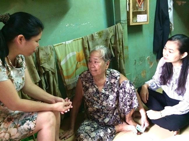 Trung uong Hoi LHPN Viet Nam lam viec voi Hoi LHPN P.9, Q.3