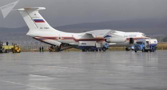 40 tấn hàng Nga viện trợ khắc phục hậu quả bão Damrey đang tới Việt Nam