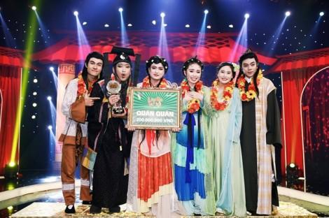 Chuồn Chuồn Giấy trở thành quán quân 'Làng hài mở hội 2017' sau 4 lần tham gia gameshow