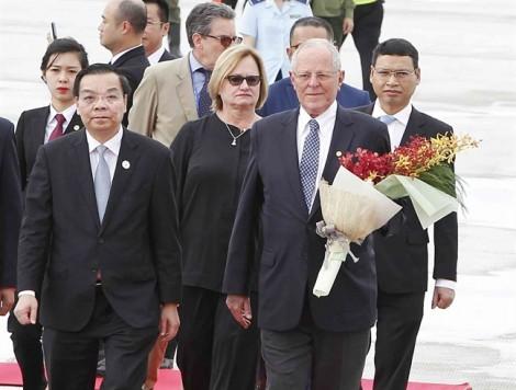 Lãnh đạo các nước liên tục đến Đà Nẵng dự APEC 2017