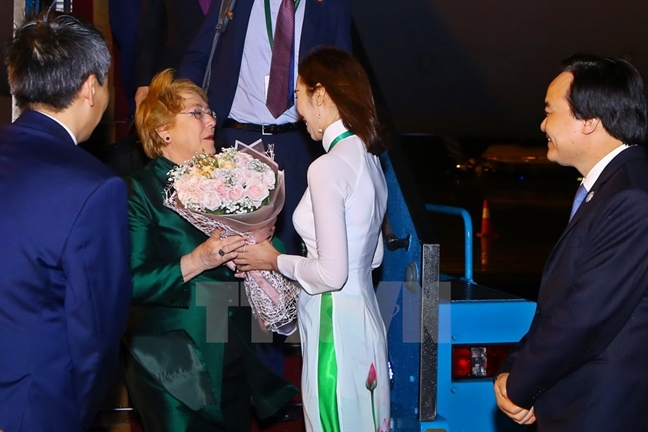 Hom nay lanh dao 21 nen kinh te the gioi tham du APEC 2017 tai Da Nang