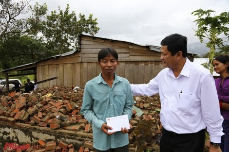 TP.HCM hỗ trợ 1 tỷ đồng cho tỉnh Ninh Thuận khắc phục hậu quả bão số 12