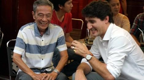 Quán cà phê Thủ tướng Canada ngồi ở Sài Gòn có gì hấp dẫn?