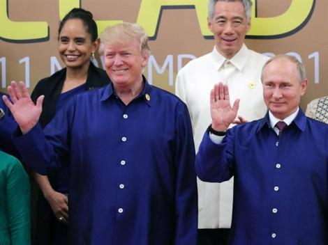 Tổng thống Mỹ và Tổng thống Nga trò chuyện chớp nhoáng ở APEC
