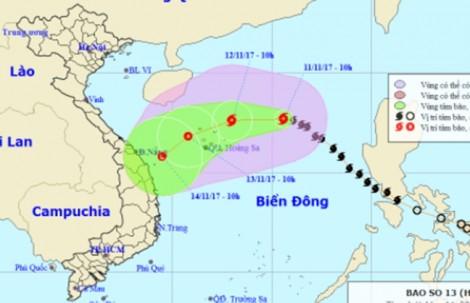 Bão Haikui đổi hướng vào miền Trung