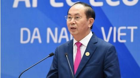 Chủ tịch nước Trần Đại Quang: 'APEC kết thúc tốt đẹp'