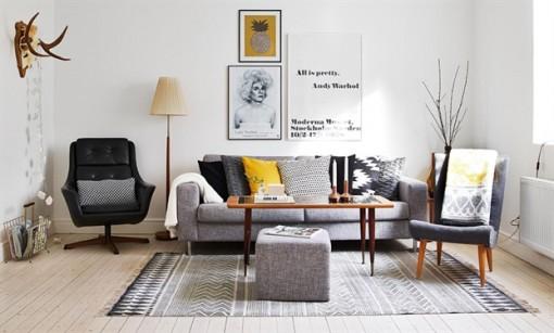 Biến tấu căn nhà thêm sức sống từ những tấm thảm đầy sắc màu