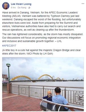 Sau Hoi nghi APEC 2017, lanh dao cac nuoc co them an tuong dep ve Viet Nam