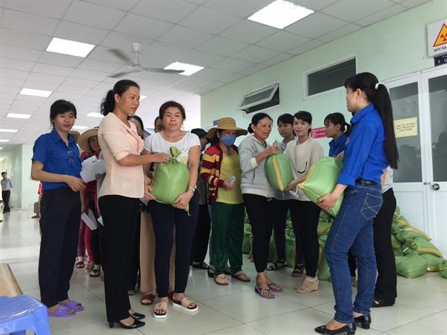 Nha Be: tam soat ung thu vu cho 250 hoi vien phu nu